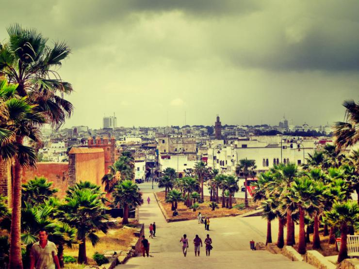 City from Kasbah