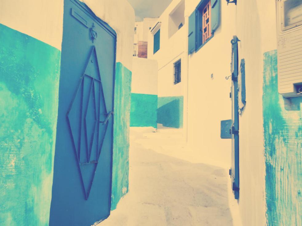 Kasbah Blue