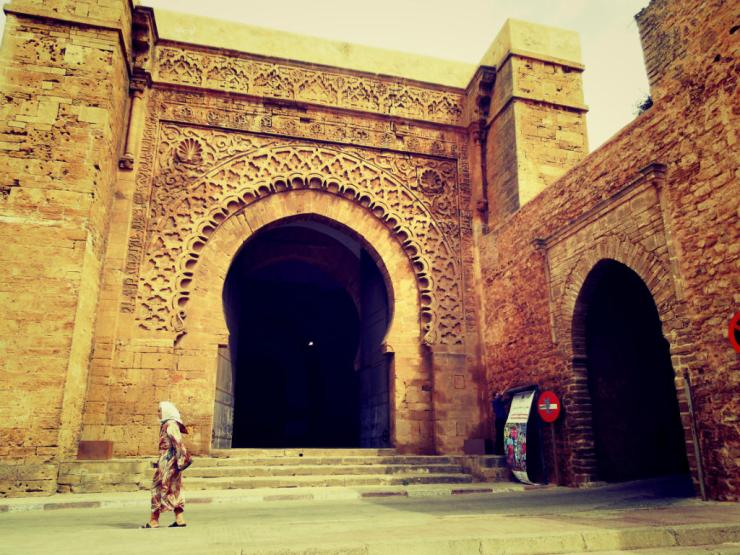 kasbah entrance