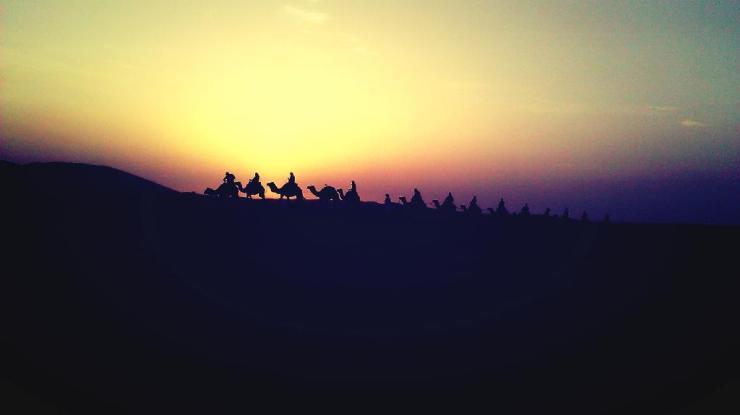 saharan sunrise
