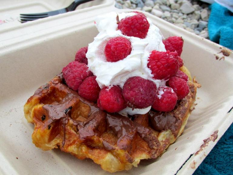 bellie's waffle